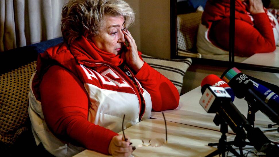 df3982720756c Jedną z tych osób, które najmocniej zaprotestowały przeciw decyzji MKOl  jest Tatiana Tarasowa. To renomowana, nie tylko w Rosji, trenerka  łyżwiarstwa ...