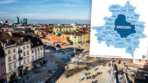 Warszawa według PiS: 33 gminy, wspólny prezydent i rada
