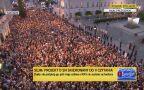 Łańcuch Światła na Krakowskim Przedmieściu