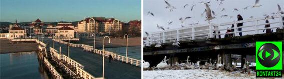 Nad Bałtykiem najlepiej widać zmianę aury