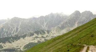Turyści o warunkach w Tatrach