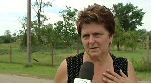 Świadkowie o wichurze na Mazowszu (TVN24)
