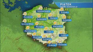 Prognoza pogody na piątek 10.04